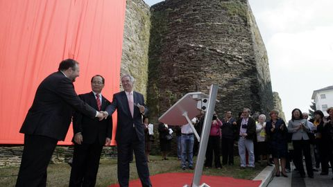 El 6 de octubre del 2007, hermanamiento entre la Muralla de Lugo y la Gran Muralla China