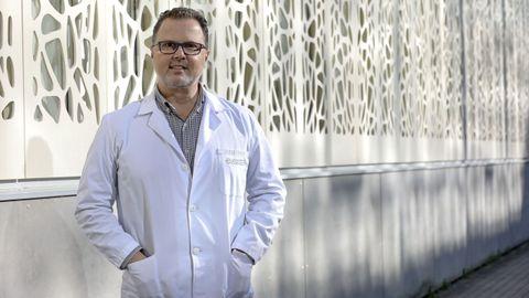 Federico Martinón en el Instituto de Investigación de Santiago (IDIS)