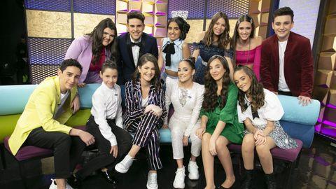 Los finalistas de «Idol Kids»