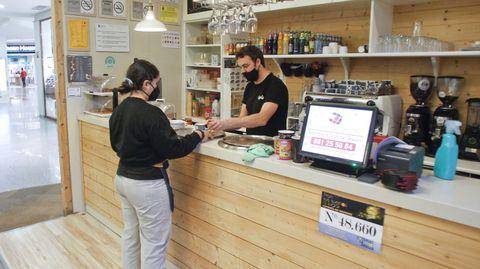Cafetería Caprice, en Odeón