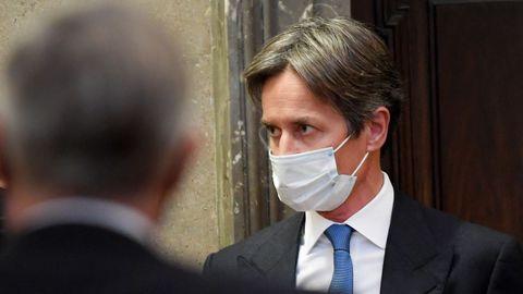 El exministro austríaco  Karl-Heinz Grasser