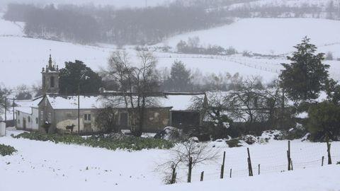 Valín, una aldea de Baleira sin luz desde el viernes