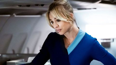 Kaley Cuoco («The Big Bang Theory») como Cassey en la serie de HBO «The Flight Attendant»