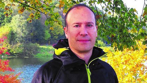 El escritor en lengua asturiana Xabiero Cayarga