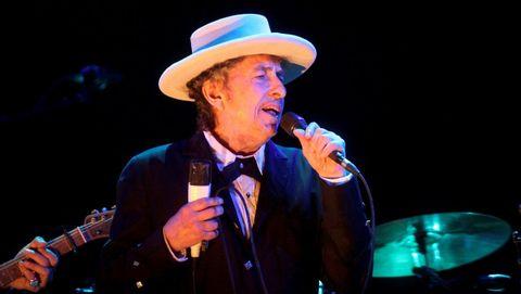 Bob Dylan, durante un concierto en el Festival Internacional de Benicássim, en Castellón, el 12 de julio del 2012