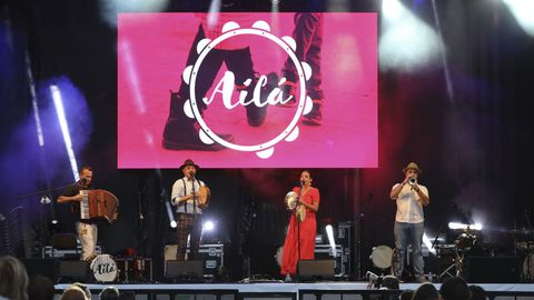 O grupo compostelá Ailá recupera no que vincula as música ás rutas xacobeas