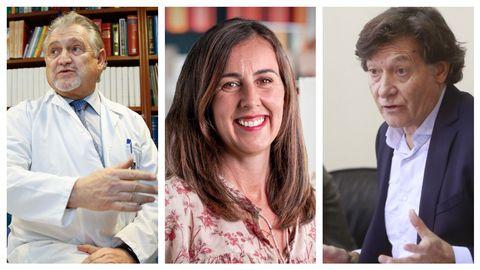 Felipe F. Casanueva, Gabriela González y José Ramón Lete participan en la mesa redonda