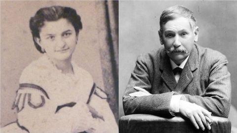 Emilia Pardo Bazán y Benito Pérez Galdós