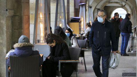 La hostelería en Lugo podrá abrir hasta las seis de la tarde