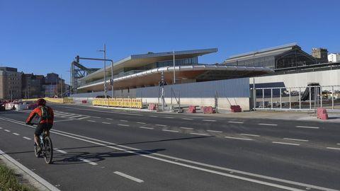 La nueva estación intermodal de Santiago se inaugurará en unas semanas