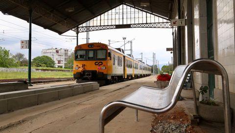 Tren Celta entre Portugal y Galicia
