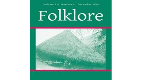 La revista británica Folklore