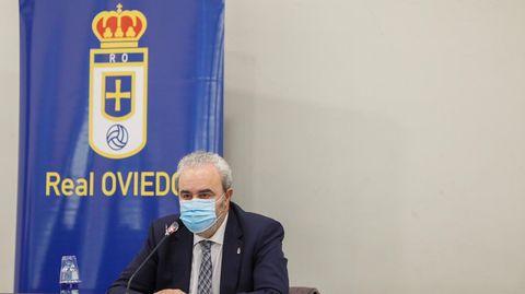 Manuel Paredes, vicepresidente del Real Oviedo
