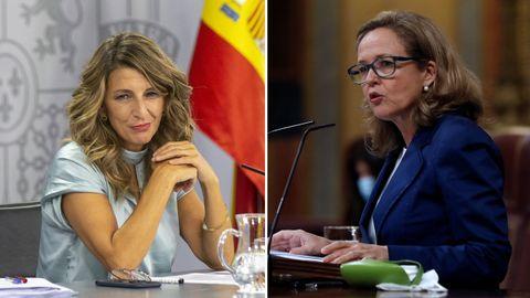 Yolanda Díaz asumirá la vicepresidencia tercera y mantendrá la cartera de Trabajo y Nadia Calviño ascenderá a vicepresidenta segunda como titular de Economía