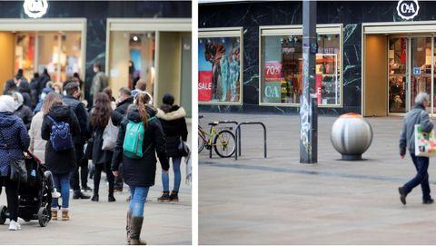 El antes y después del segundo confinamiento, más duro en Alemania