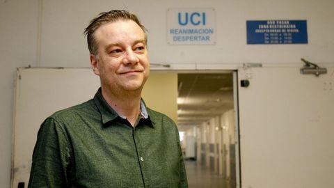 Pedro Rascado, especialista en Medicina Intensiva del CHUS y miembro del comité clínico