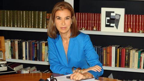 Carmen Posadas acaba de publicar «La leyenda de la peregrina», sobre una joya legendaria