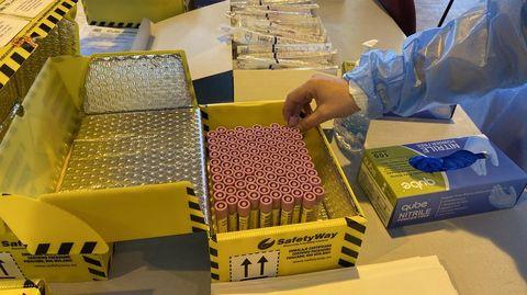 En el área sanitaria de Ourense se han hecho 126.461 PCR desde el inicio de la pandemia
