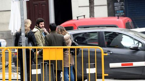Guillermo Bárcenas acudió hoy a la Audiencia Nacional para declarar ante el juez