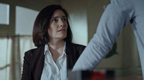 La actriz lucense Melania Cruz protagoniza la película «Ons», de Zarauza