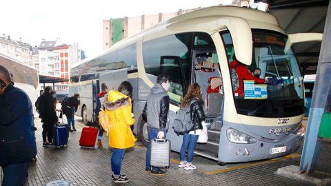 Los autobuses Freire dejarán de cubrir la línea Lugo-Santiago