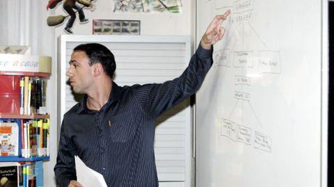Francis Cagigao, en una charla sobre captación de talentos