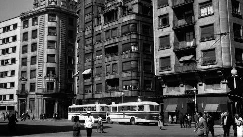 MAYU. Plaza del Carmen, 1962