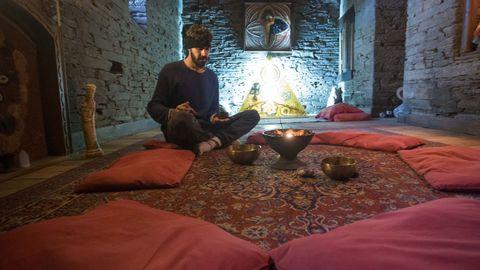 Sala de meditacion y terapias alternativas