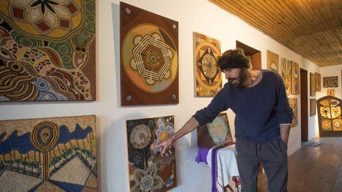 Galería con las obras de ambos, padre e hijo
