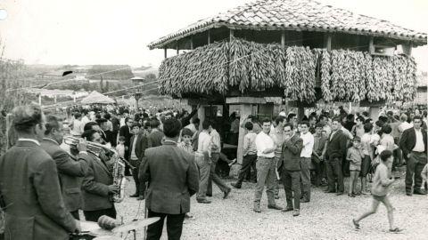 SETIEMBRE. Romería nel Muséu del Pueblu, 1968