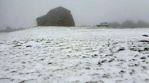 El Alto do Faro presentaba esta estampa tras la última nevada