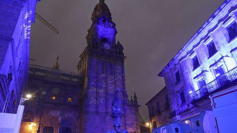 Preparativos y ensayos del evento en la catedral