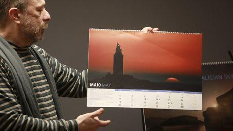 Dosi Veiga dirige el proyecto de divulgación científica  Ceos galegos  que protagoniza la exposición de la Casa de las Ciencias