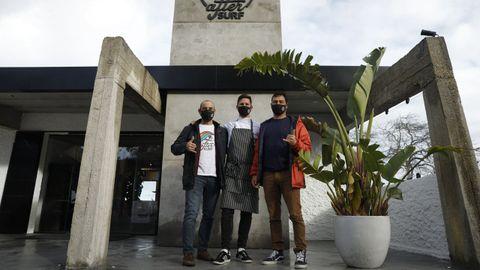 José Luis Díaz, Lucas Fernández y Eric Rebiere son los socios de este proyecto