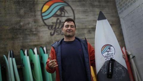 Eric Rebiere es el «alma mater» de un proyecto que gira alrededor del surf