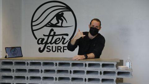 Diseño industrial para la entrada de la academia de surf