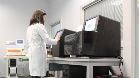 Instalaciones de medicina genómica en Santiago