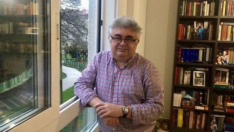 El escritor y periodista Ramón Loureiro