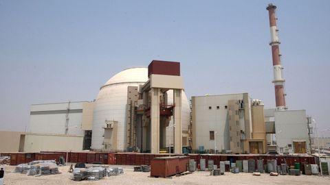 La planta nuclear iraní de Bushehr, en una imagen de archivo