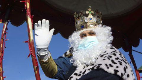 Reyes Magos en Cabovilaño (A Laracha)