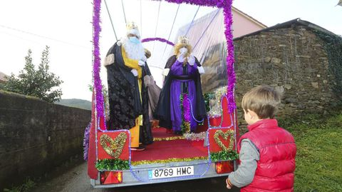 Reyes Magos en Coristanco
