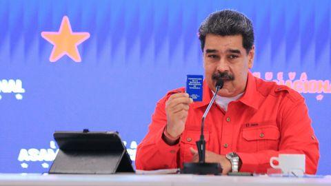 Maduro, en una comparecencia ante la prensa el pasado lunes