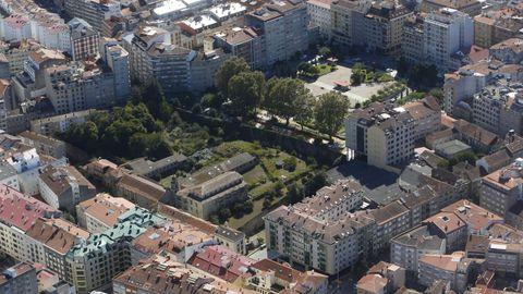 Covento y huerta de Santa Clara, cuya compra negocia  el Concello de Pontevedra