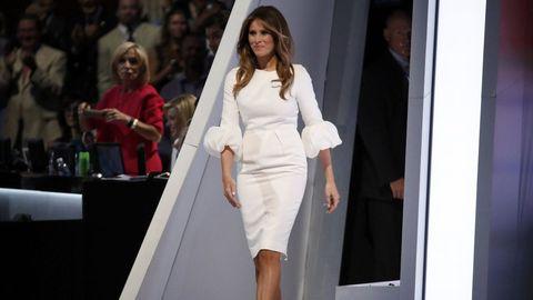 Discurso polémico. En el 2016 pronunció un discurso muy parecido al que dio Michelle Obama en el 2008.