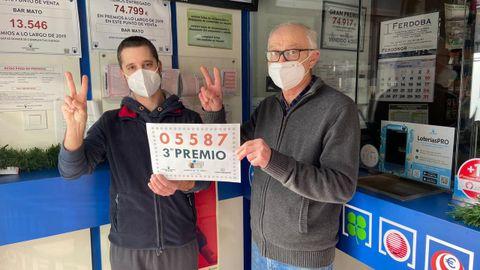 Lotería del Niño 2021 en Galicia: Ramón Mato con el tercer premio del sorteo