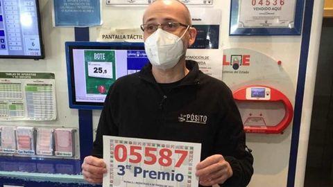 Lotería del Niño 2021 en Galicia: Lotero de Moaña que vendió décimos del tercer premio