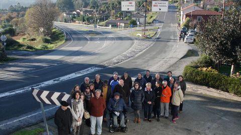 El cruce de Queirís será reformado después de las protestas de los vecinos