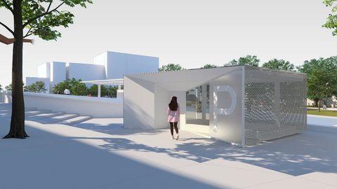 Los accesos peatonales al apracmiento subterráneo serán totalmente renovados