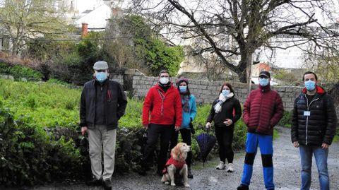 Un dos primeiros paseos guiados que organizou Guido Guía este ano foi «Un barrio sen reloxo», dentro do programa de «O Lugo menos coñecido». O próximo terá lugar este domingo, polo barrio de Castelo