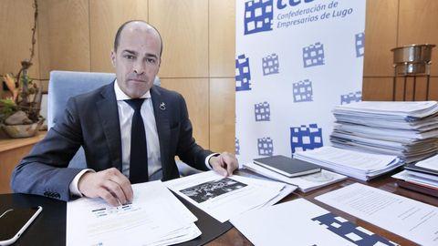 Jaime López lidera a Confederación de Empresarios de Lugo